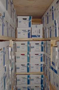 pickup documents, box files for scanning, secure pickup