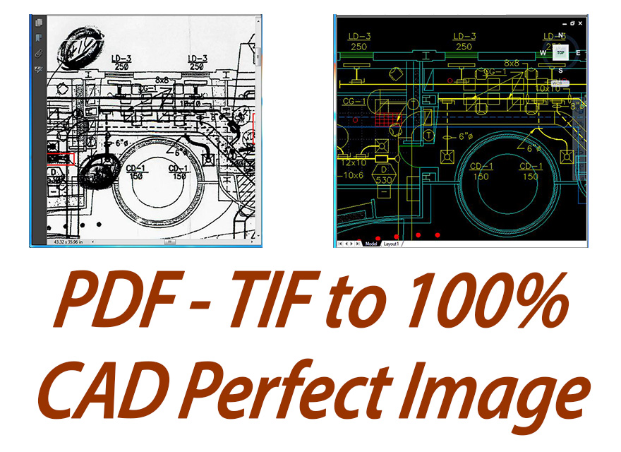 autocad conversions from pdf files